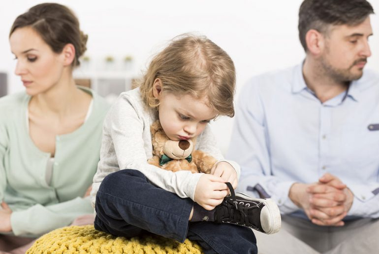 Divortul si copiii in timpul sarbatorilor